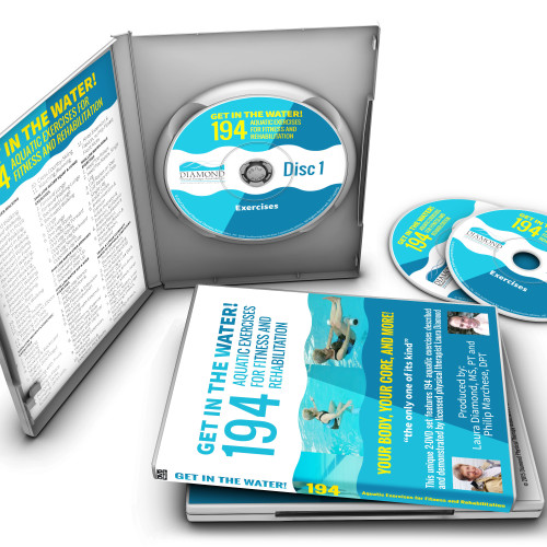 Get in the Water! 194 Aquatic Exercises for Fitness and Rehabilitation (two DVD set)